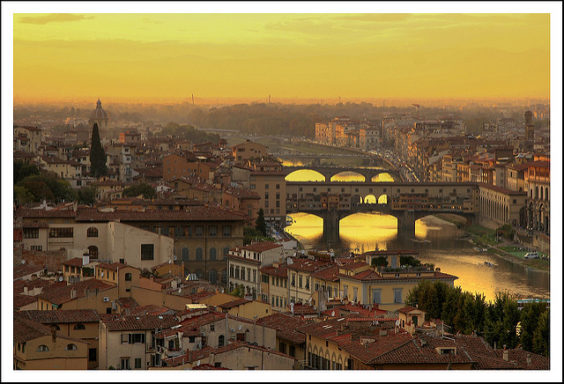 Condor: Phoenix – Florence, Italy. $570. Roundtrip, including all Taxes