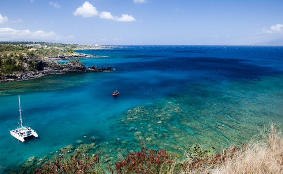 American: New York – Maui, Hawaii (and vice versa). $579. Roundtrip, including all Taxes