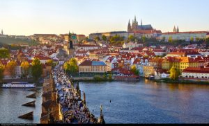 Condor: Portland – Prague, Czech Republic. $610. Roundtrip, including all Taxes