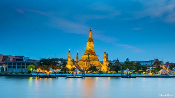 United / All Nippon Airways: San Francisco – Bangkok, Thailand. $520. Roundtrip, including all Taxes