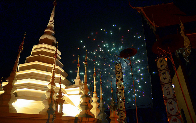 American: Los Angeles – Chiang Mai, Thailand. $595. Roundtrip, including all Taxes