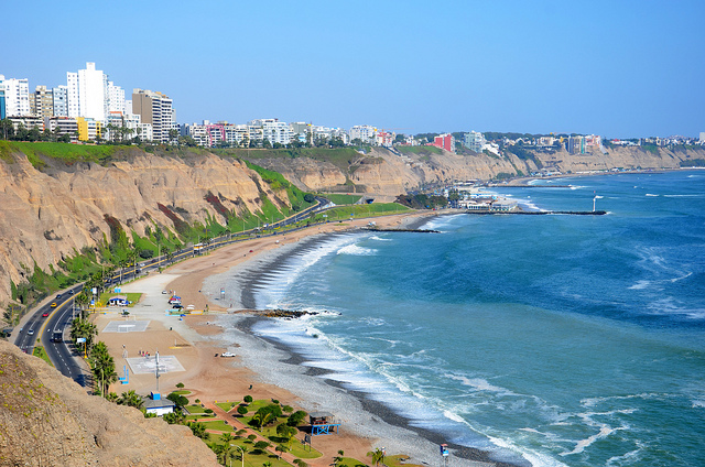 Copa: Washington D.C. – Lima, Peru. $402. Roundtrip, including all Taxes