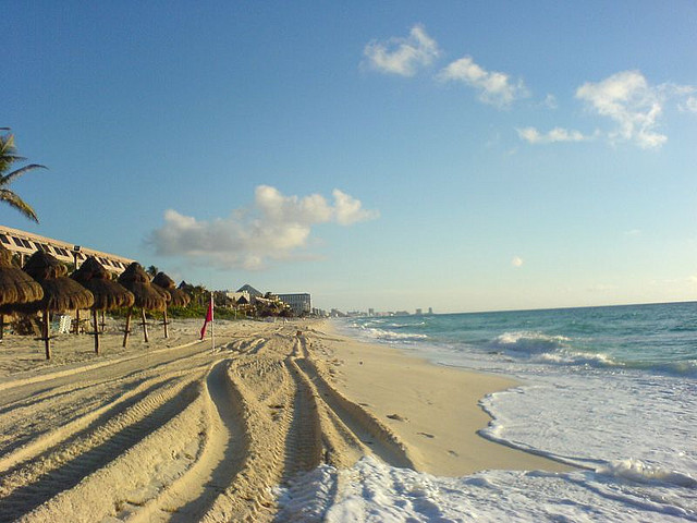 American: Newark – Cancun, Mexico. $228 (Basic Economy) / $288 (Regular Economy). Roundtrip, including all Taxes