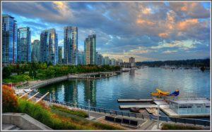 The Shorthaul – American: Los Angeles – Vancouver, Canada. $156. Roundtrip, including all Taxes