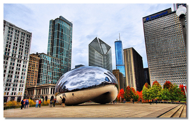 Southwest: Los Angeles – Chicago (and vice versa). $104. Roundtrip, including all Taxes