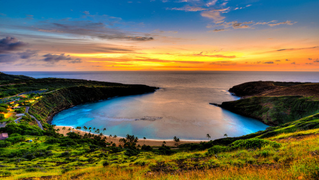 American: New York – Honolulu, Hawaii (and vice versa). $485. Roundtrip, including all Taxes