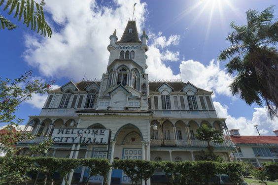 Copa: New York – Georgetown, Guyana. $427. Roundtrip, including all Taxes