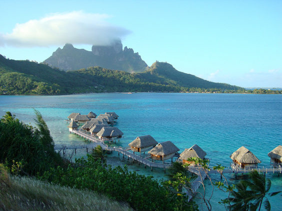 United: Portland – Papeete, Tahiti, French Polynesia. $817. Roundtrip, including all Taxes