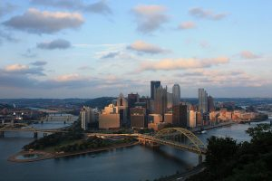 American: Los Angeles – Pittsburgh (and vice versa) $160. Roundtrip, including all Taxes
