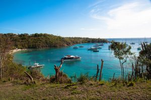 American: Los Angeles – St. Thomas, US Virgin Islands. $267. Roundtrip, including all Taxes