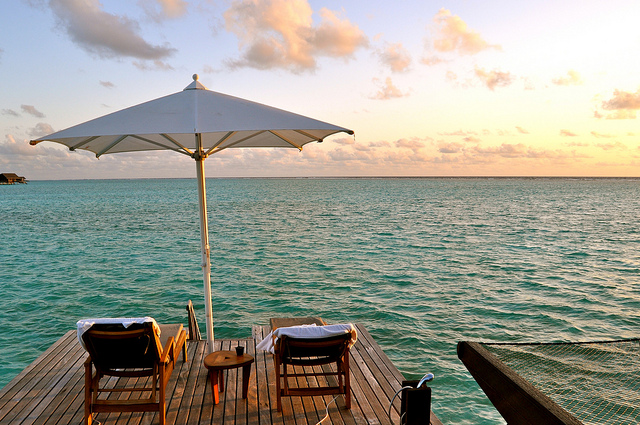 American / Qatar Airways: Phoenix – The Maldives. $787. Roundtrip, including all Taxes
