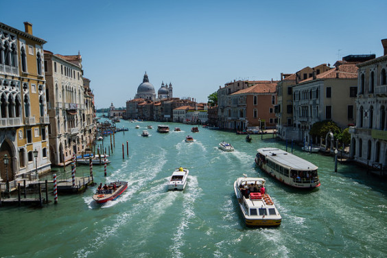 American: New York – Venice, Italy. $476. Roundtrip, including all Taxes