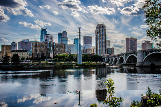 Southwest: Phoenix – Minneapolis (and vice versa). $104. Roundtrip, including all Taxes
