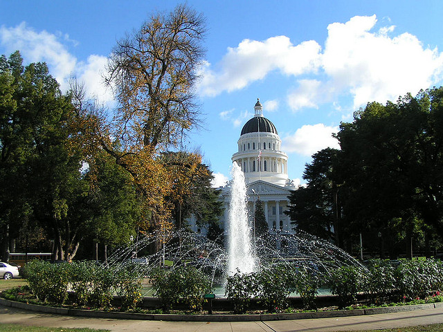 American: New York – Sacramento, California (and vice versa). $269. Roundtrip, including all Taxes
