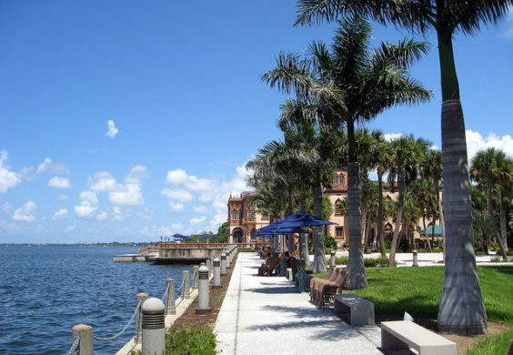 American: Portland – Sarasota, Florida (and vice versa). $275. Roundtrip, including all Taxes