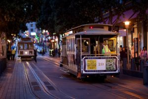 American: New York – San Francisco (and vice versa). $271. Roundtrip, including all Taxes