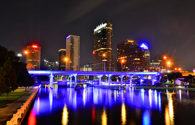 American: Los Angeles – Tampa (and vice versa). $237. Roundtrip, including all Taxes