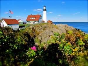 American: Los Angeles – Portland, Maine (and vice versa). $264. Roundtrip, including all Taxes