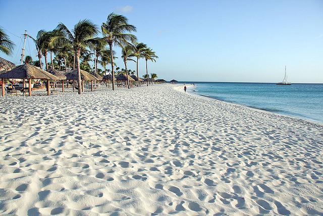 United: Newark – Aruba. $288. Roundtrip, including all Taxes