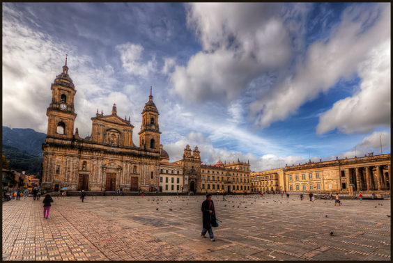 American: Phoenix – Bogota, Colombia. $240. Roundtrip, including all Taxes
