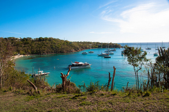 American: San Francisco – St. Thomas, US Virgin Islands. $306. Roundtrip, including all Taxes